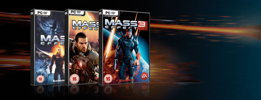 Mass Effect Games from £2.50 for PC Download - Download Now at GAME.co.uk!