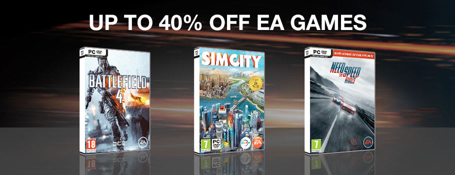 Up to 40% Off EA Games for PC Download - Download Now at GAME.co.uk!