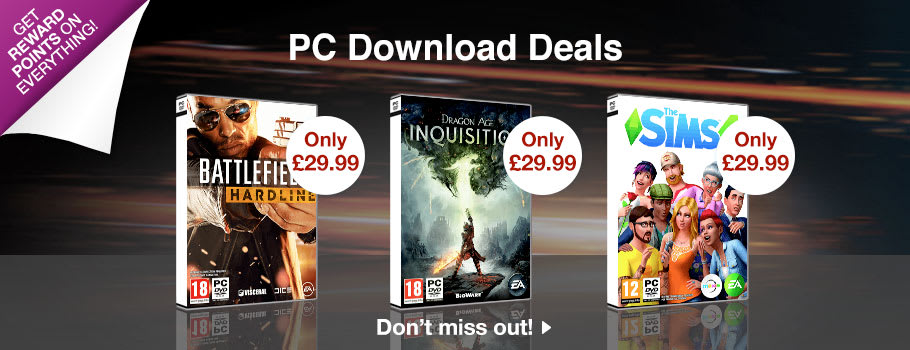 EA Deals for PC Download - Buy Now at GAME.co.uk!