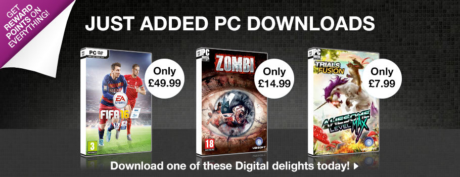 Just Added Downloads for PC Download - Download Now at GAME.co.uk!