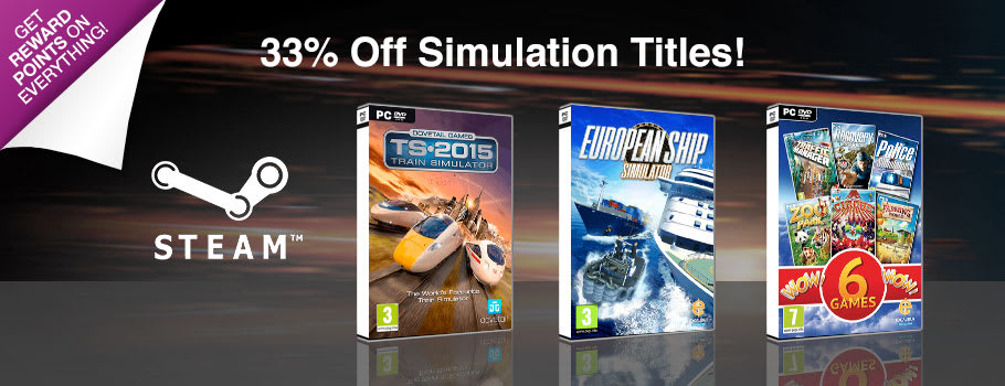 Simulation Deals for PC Download - Download Now at GAME.co.uk!