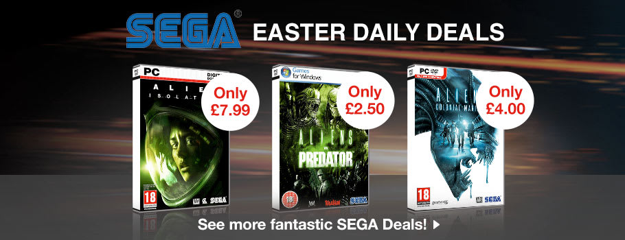 SEGA Download Deals - Download Now at GAME.co.uk!