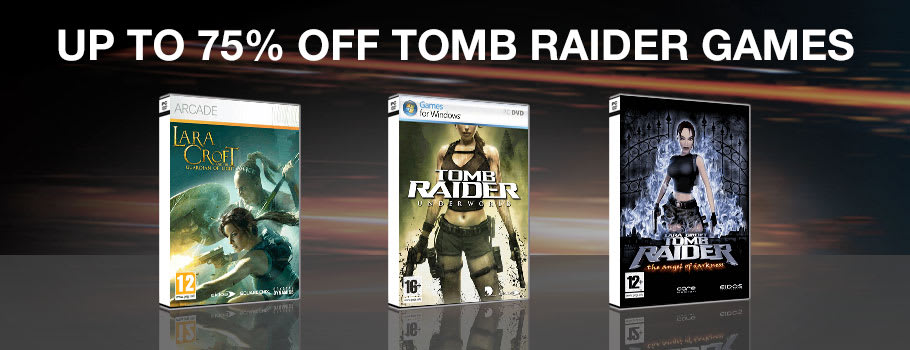 Up to 75% Off Tomb Raider Games for PC Download - Download Now at GAME.co.uk!