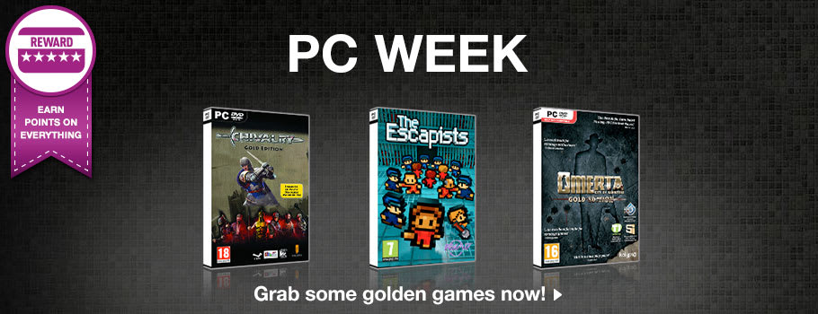 PC Week at GAME - Buy Now at GAME.co.uk!