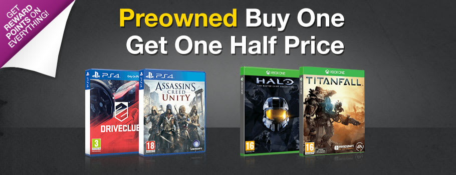 Preowned - Next Gen - Buy One Get One Half Price - Buy Now at GAME.co.uk!