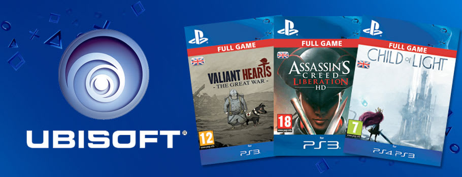Ubisoft Digital for PlayStation Network - Download Now at GAME.co.uk!