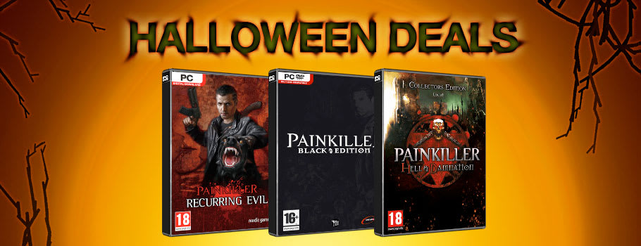 Painkiler Halloween Deals for PC Download - Download Now at GAME.co.uk!