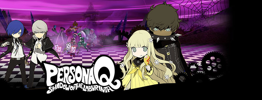 Persona Q: Shadow of the Labrynth for Nintendo 3DS - Preorder Now at GAME.co.uk!
