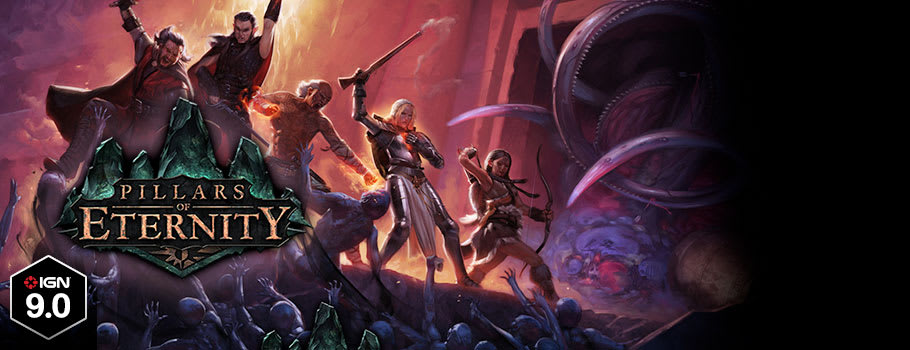 Pillars of Eternity for PC Download - Preorder Now at GAME.co.uk!
