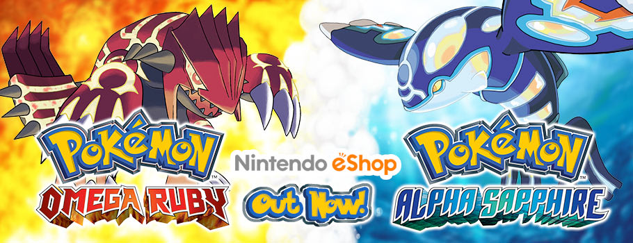 Pokemon Ruby/Sapphire for Nintendo eShop - Download Now at GAME.co.uk!