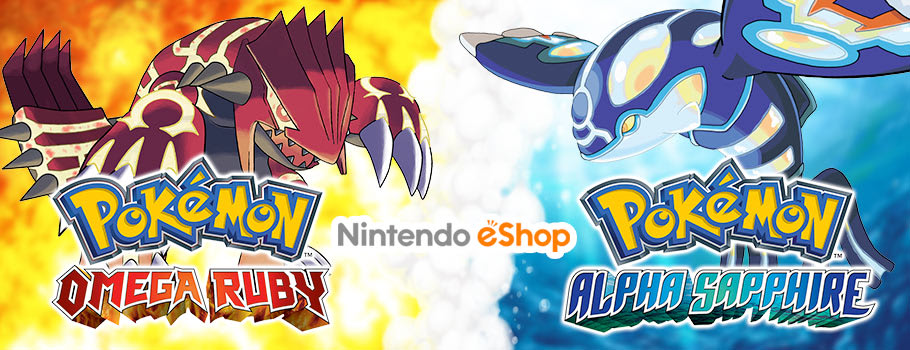 Pokemon Omega Ruby and Alpha Sapphire for Nintendo eShop - Download Now at GAME.co.uk!