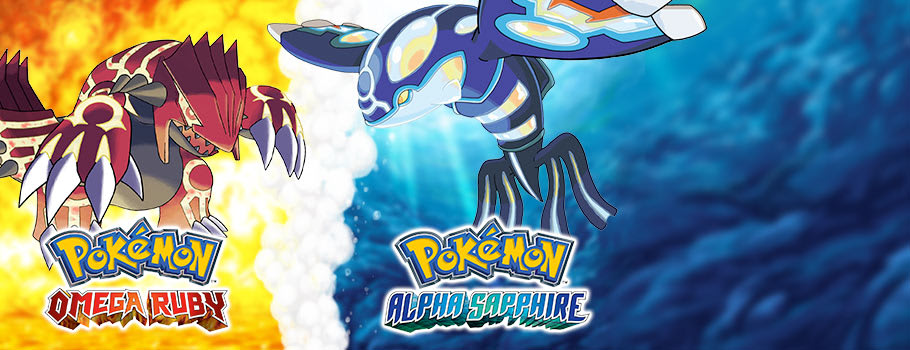 Pokémon Omega Ruby and Alpha Sapphire - Preorder Now at GAME.co.uk!