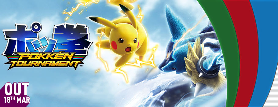 Pokkén Tournament for Wii U  - Pre-order Now at GAME.co.uk!