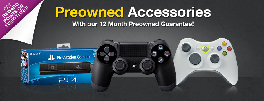 Preowned Accessories - Buy Now at GAME.co.uk!
