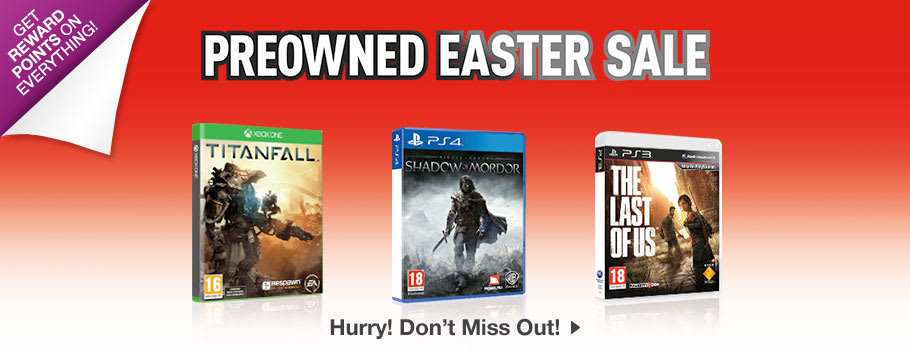 Preowned SALE - Buy Now at GAME.co.uk!