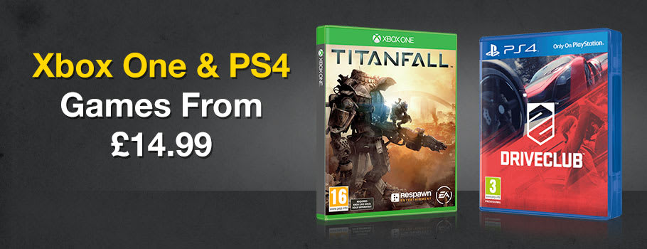 Preowned Games from £14.99 - Buy Now at GAME.co.uk!