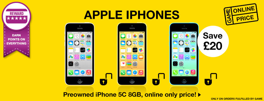 Mobile Phones for Preowned - Buy Now at GAME.co.uk!