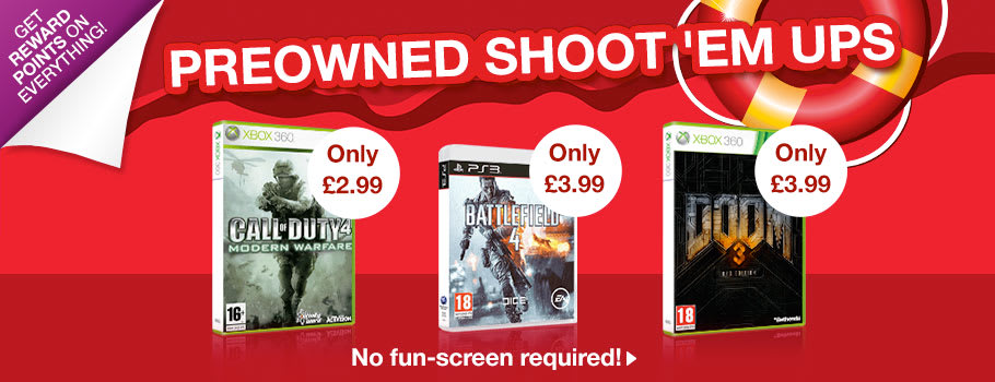 Preowned Shoot 'em Ups - Buy Now at GAME.co.uk!