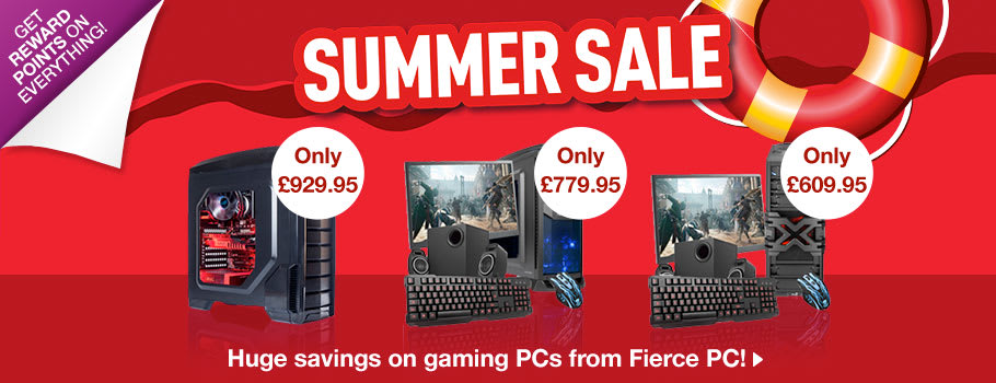 Fierce PC Gaming PC Deals - Buy Now at GAME.co.uk!
