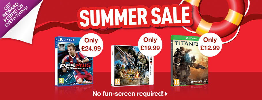 Summer SALE - Buy Now at GAME.co.uk!