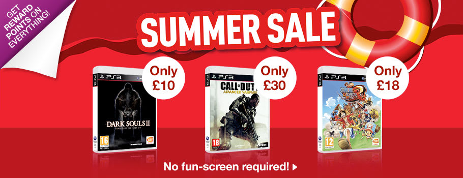 Summer SALE for PlayStation 3 - Buy Now at GAME.co.uk!