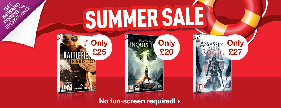Summer SALE for PC - Buy Now at GAME.co.uk!