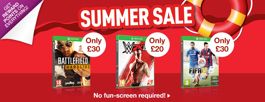 Summer SALE for Xbox One - Buy Now at GAME.co.uk!