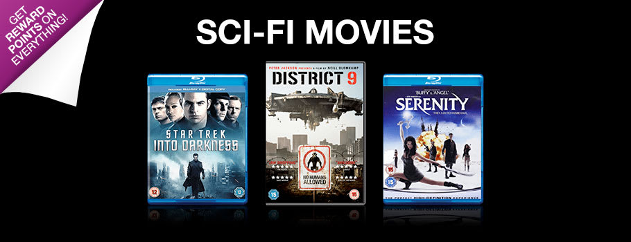 Sci Fi Movies - Buy Now at GAME.co.uk!