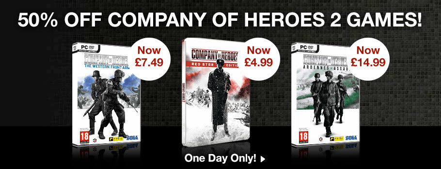 Company of Heroes 2- Buy Now at GAME.co.uk!
