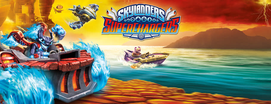 Skylanders SuperChargers - Preorders Now at GAME.co.uk!