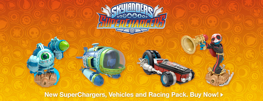 Skylanders Superchargers for GAME Junior - Preorder Now at GAME.co.uk!