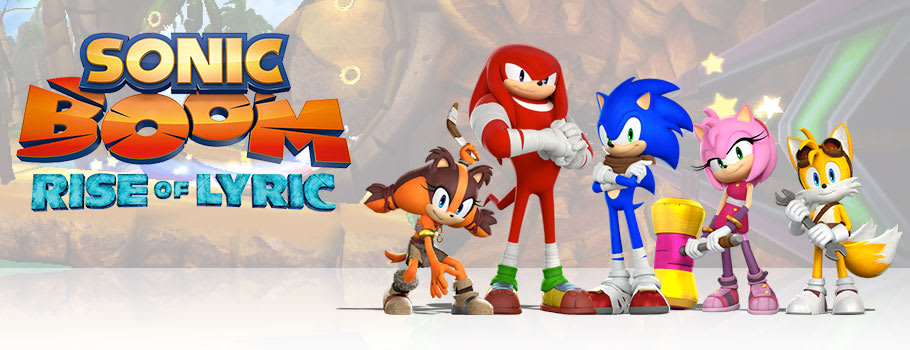 Sonic Boom: Rise of Lyric for Nintendo Wii U - Buy Now at GAME.co.uk!