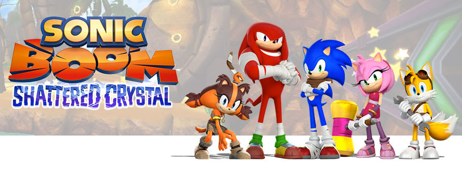Sonic Boom: Shattered Crystal for Nintendo 3DS - Buy Now at GAME.co.uk!