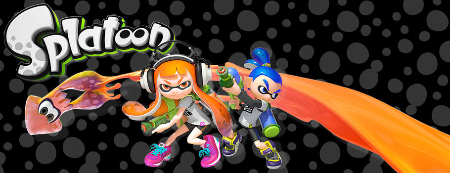 Splatoon for Nintendo Wii U - Preorder Now at GAME.co.uk!