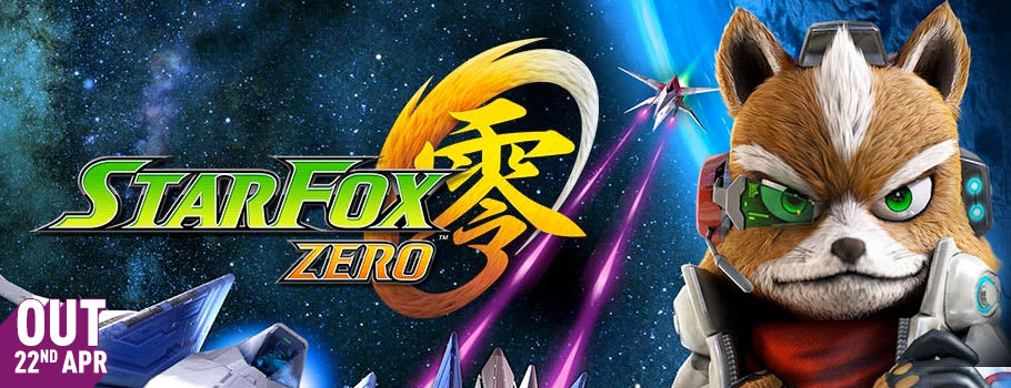 Star Fox Zero only for Nintendo Wii U - Preorder Now at GAME.co.uk!