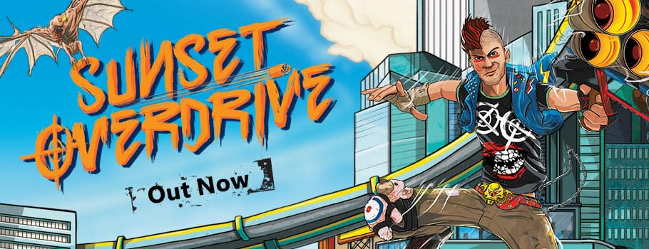 Sunset Overdrive for Xbox One - Preorder Now at GAME.co.uk!
