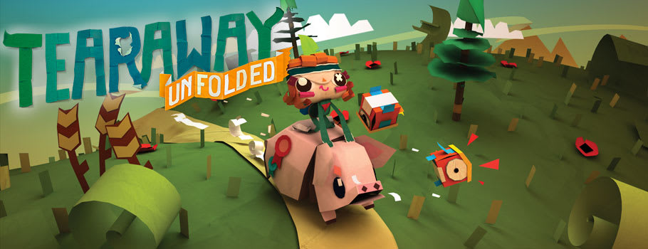 Tearaway Unfolded - Preorder Now at GAME.co.uk!