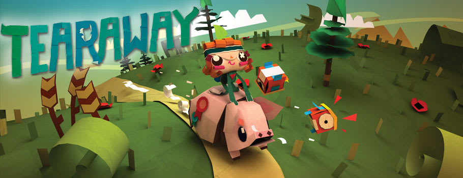 Tearaway for PlayStation VITA - Buy Now at GAME.co.uk!
