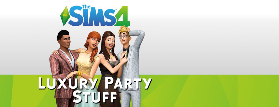 Sims 4 Luxury Party Stuff - Buy Now at GAME.co.uk!