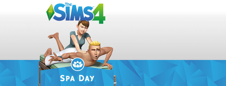 Sims 4 Spa Day for PC Download - xx Now at GAME.co.uk!