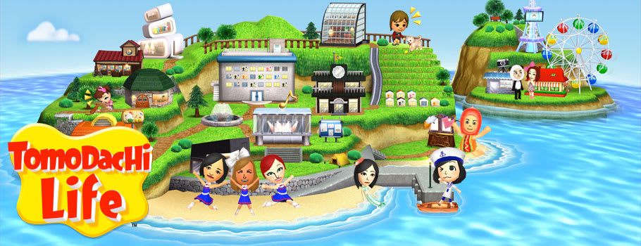 Tomodachi Life on Nintendo 3DS available Now at GAME.co.uk!
