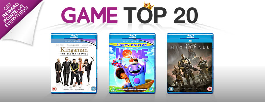 Top 20 Chart - Buy Now at GAME.co.uk!