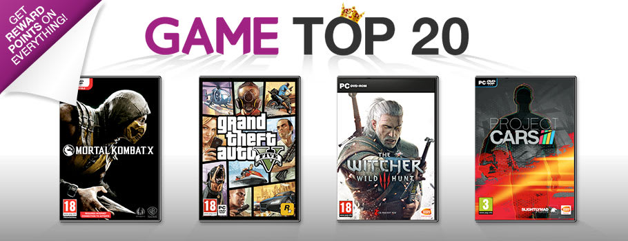 Top 20 Chart for PC - Buy Now at GAME.co.uk!