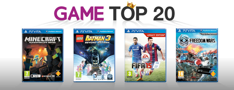 Top 20 for PlayStation Vita - Buy Now at GAME.co.uk!