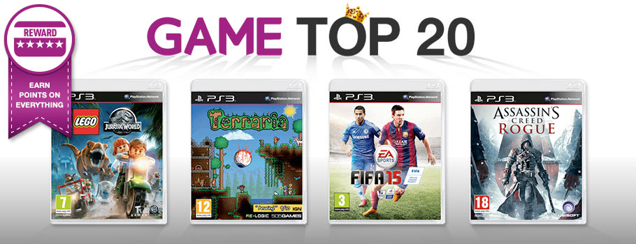 Top 20 for PlayStation 3 - Buy Now at GAME.co.uk!