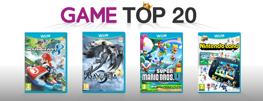 Top 20 Games for Wii U - Buy Now at GAME.co.uk!