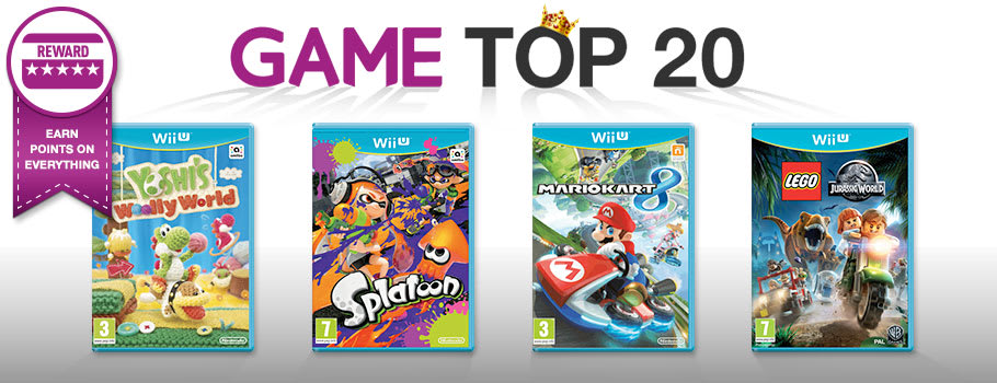 Top 20 for Nintendo Wii U - Buy Now at GAME.co.uk!
