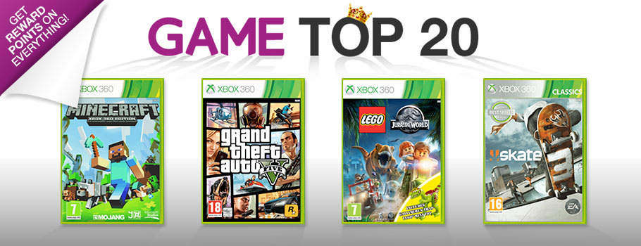 Top 20 on Xbox 360 - Buy Now at GAME.co.uk!