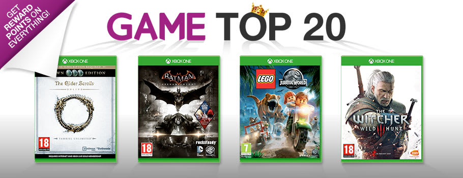 Top 20 Chart for Xbox One - Buy Now at GAME.co.uk!
