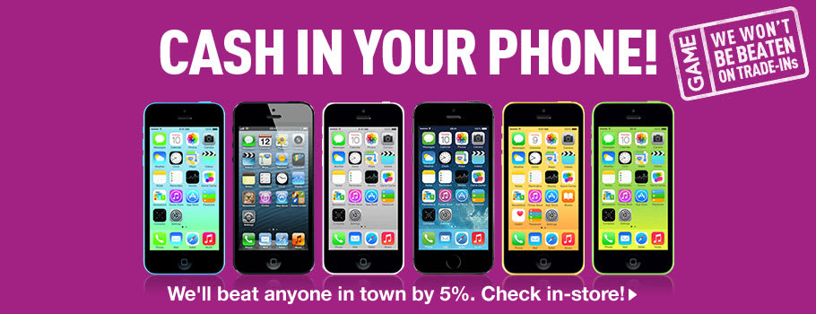 Preowned Phones and Tablets for Trade-In - Find out more at GAME.co.uk!